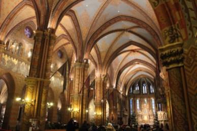 l'intérieur de l'Eglise Mathias