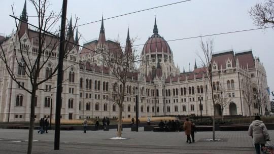 Premier jour de l'année en Hongrie…Budapest 1er janvier 2015