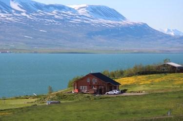 Au bord du Fjord d'Eyafjörfur