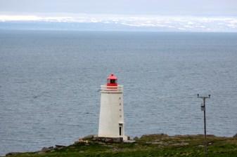 Le phare de Skarðsviti sur Vatnsnes