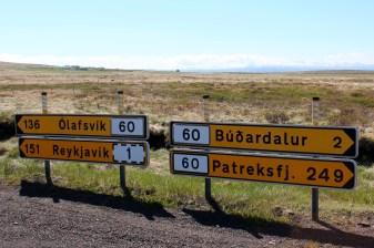 Direction Olafsvik sur la péninsule de Snæfellsness