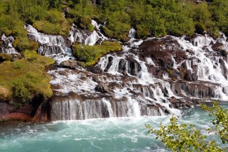 Cascade de Hraunfoss