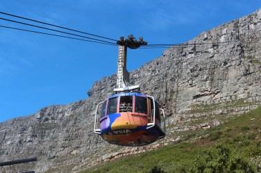 Le Cableway de la Table Mountain