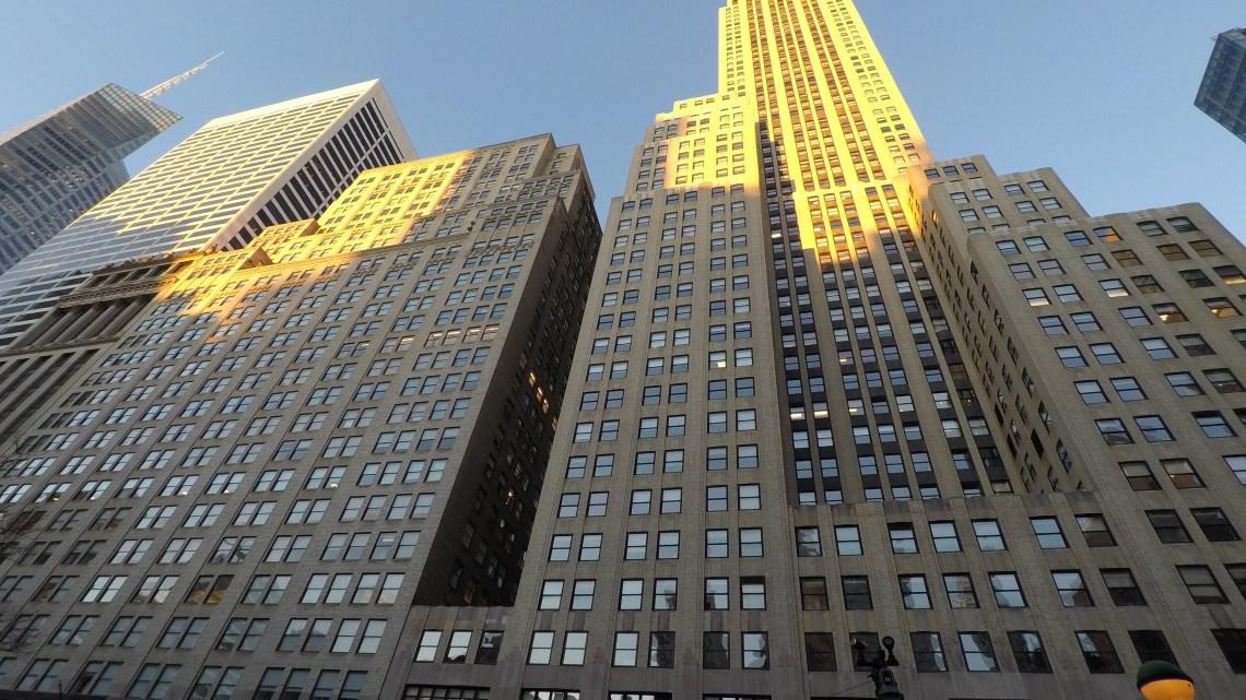 New-York en famille à Noël…La Statue de la Liberté et l'Empire State Building