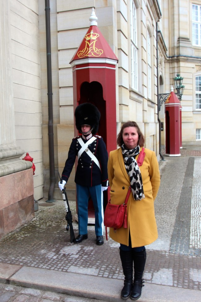 les gardes d'Amalienborg