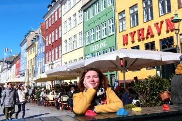 On est revenu à Nyhavn..sous le soleil