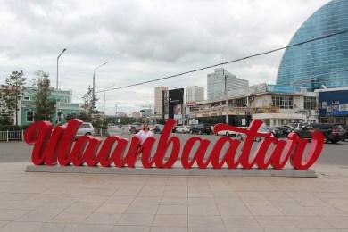on est arrivé à Ulaanbaatar