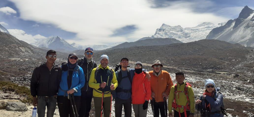 Le trek du camp de base…par la Team Everest 2019