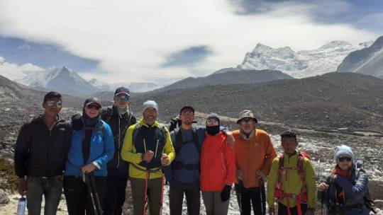 Le trek du camp de base…par la Team Everest 2019