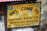 Puis une taxe pour rentrer dans le parc national de Sagarmatha (Everest)