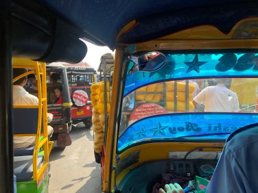 Trafic à Jaipur