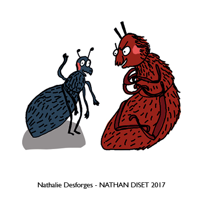 Nathalie Desforges jeu de cartes orthographe - Nathan Diset48