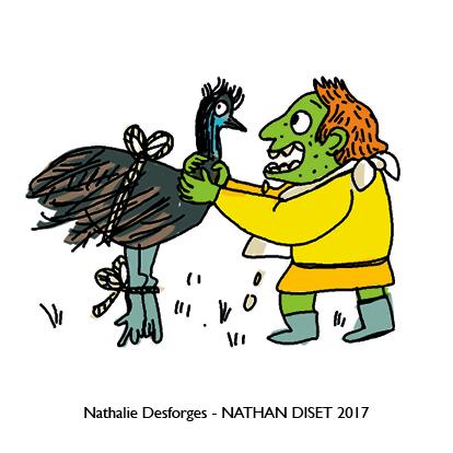 Nathalie Desforges jeu de cartes orthographe - Nathan Diset53