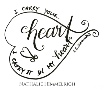 handlettered quote