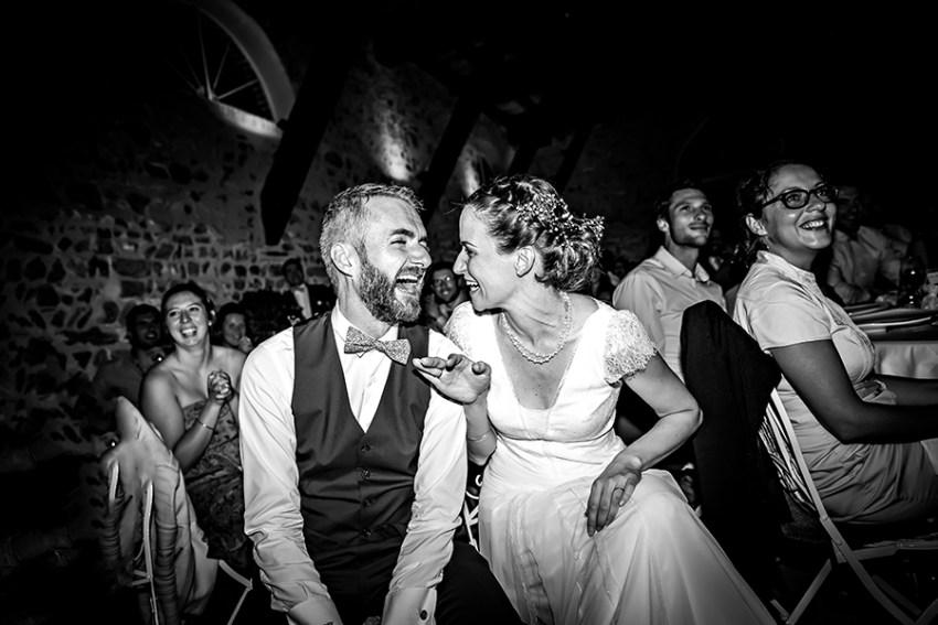 photo de soirée de mariage La Javernière