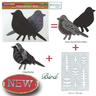 Bird Foam Stamp Set