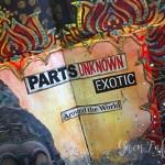 Adventure Art Journal Spread - Close-up 1 - Gwen Lafleur