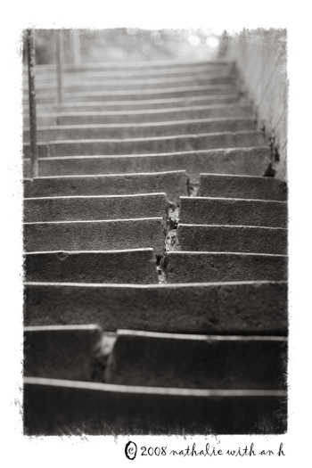 Pere Lachaise stairs