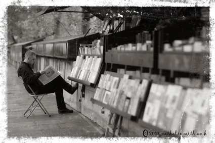 Bookseller sur les quais