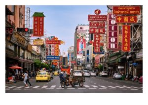 Fine Art Print of Yaowarat Road China Town