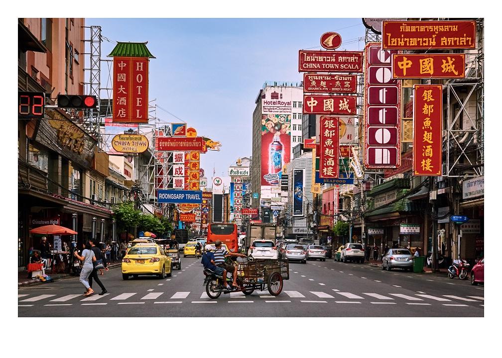 Fine Art Print of Yaowarat Road China Town