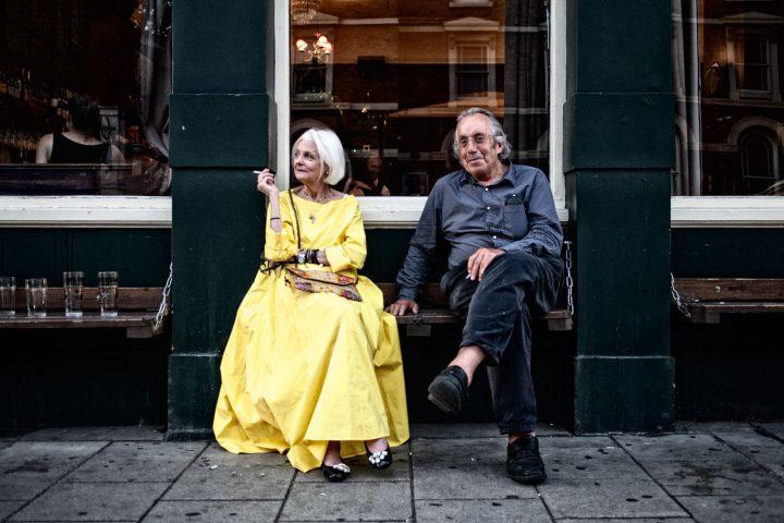 Elizabeth Walker and Alan Camberwell Arms London Summer 2016