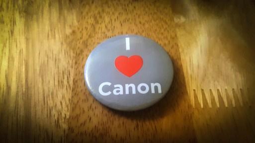 I love Canon