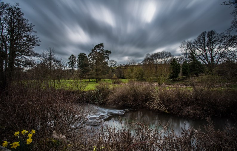 Long exposure of the River Dore