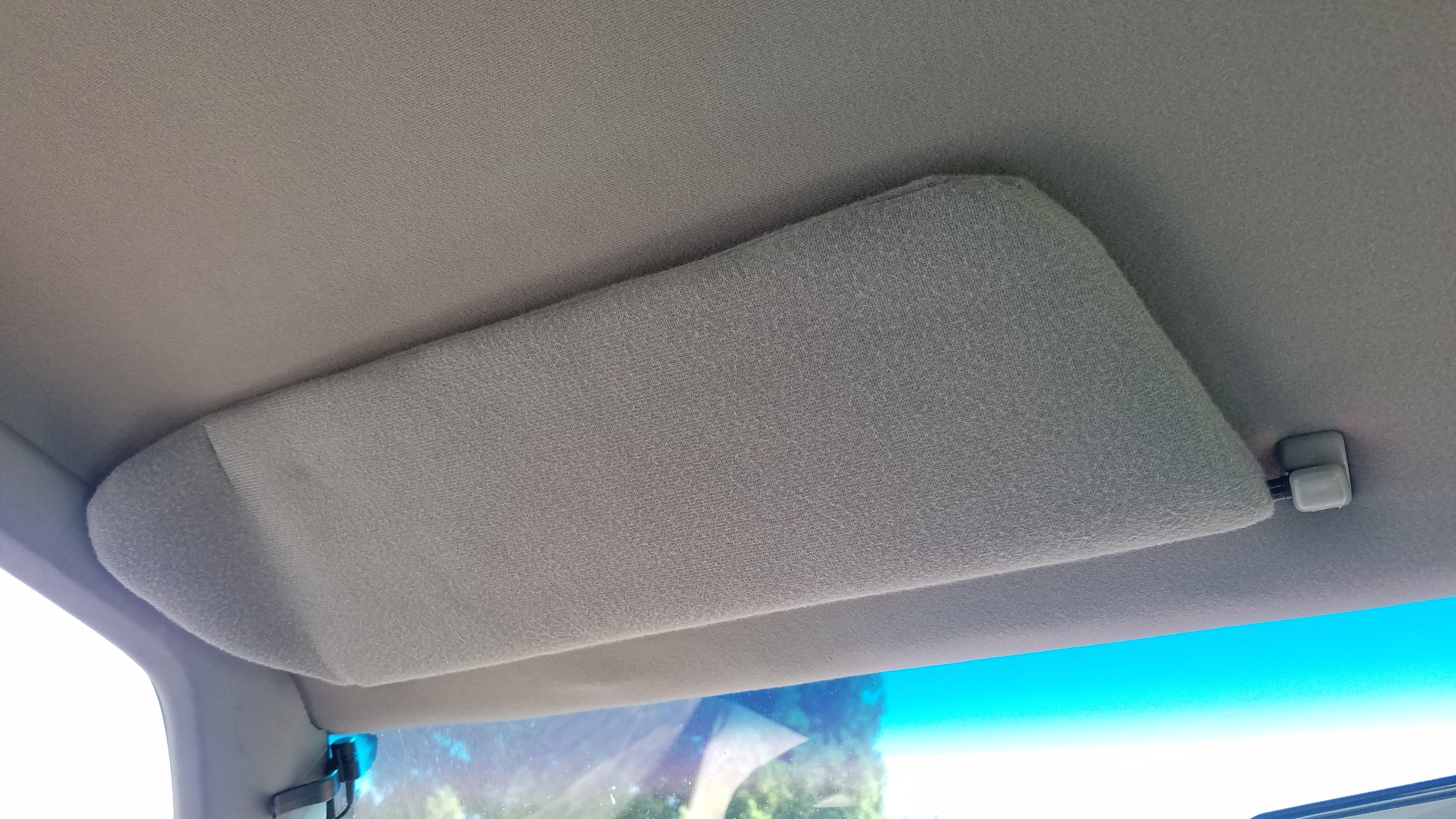 Reupholstering Jeep Cherokee XJ Sun Visors