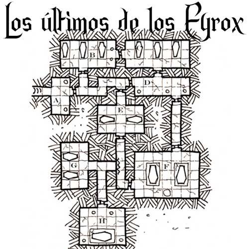 Los últimos de los Eyrox es un módulo de rol gratuito en español, para  aventureros de nivel 4-5,  contiene el Mapa,  la Historia, 8 zonas con  su descripción y  objetivos particulares.