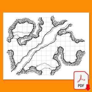 Mapa 08 del Maptober 2021 en Nathandor.com