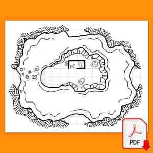Mapa 10 del maptober 2021 en nathandor.com