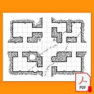 Mapa de Rol 14 del Maptober 2021 en nathandor.com