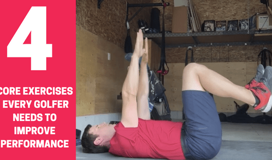 core exercises for golfers