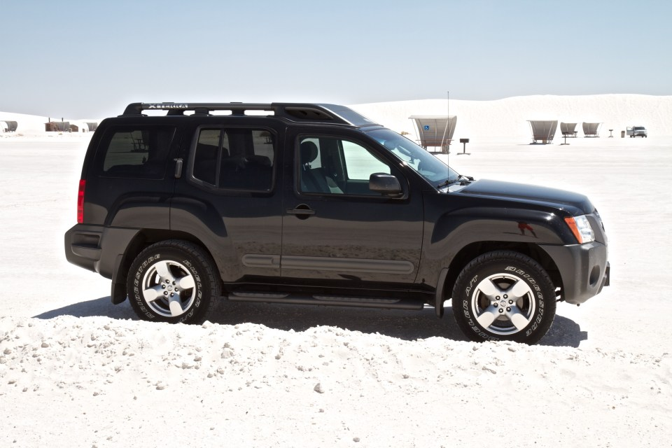 2008 Nissan Xterra White Sands National Monument New Mexiso