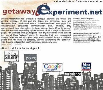 getaway-experiment