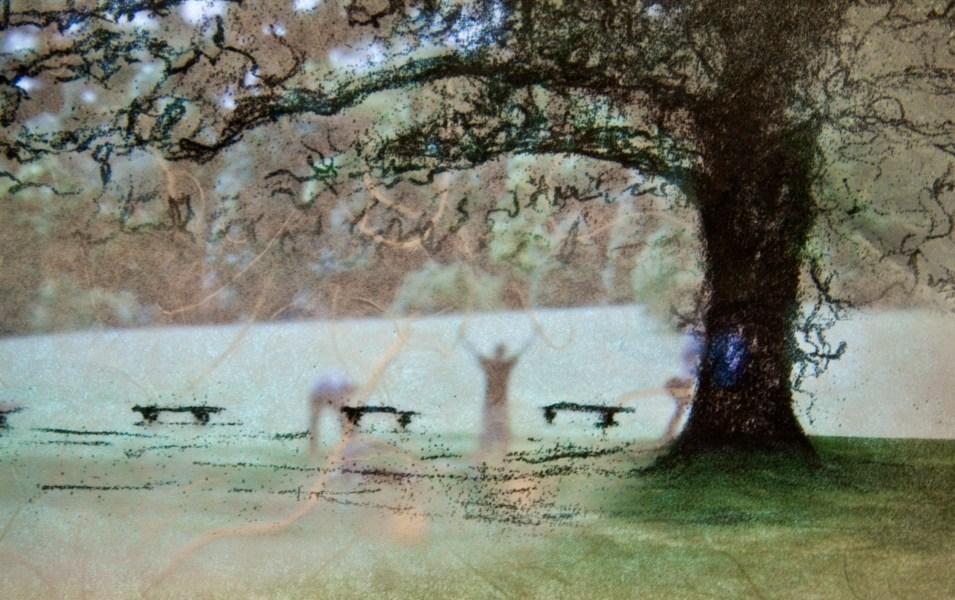 The Great Oak (detail)