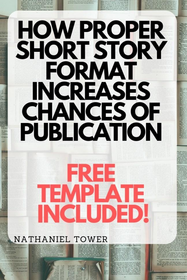 short story format   free short story manuscript template