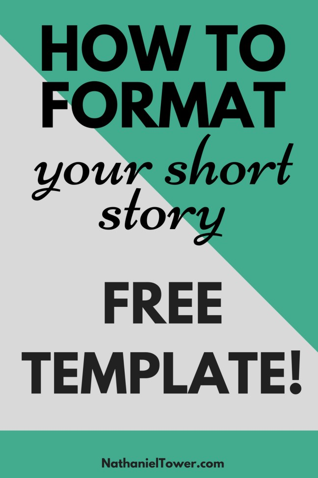 how to format short story manuscripts