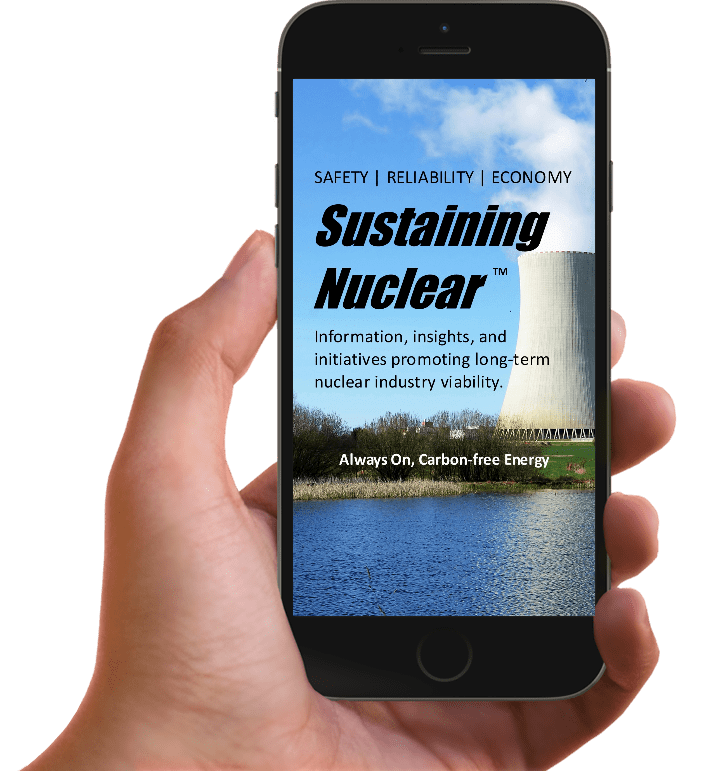 Sustaining Nuclear App | Digital Products Platform | Nathan Ives