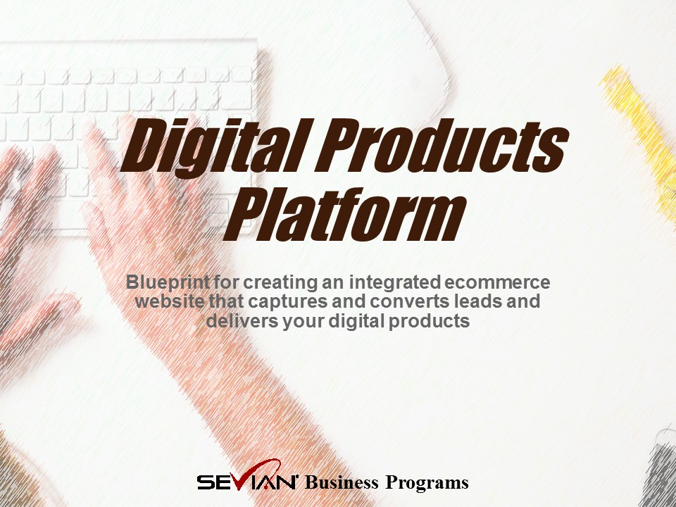 Digital Products Platform, Nathan Ives