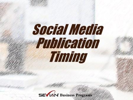 Social Media Publication Timing | Nathan Ives | Digital Marketing Masters