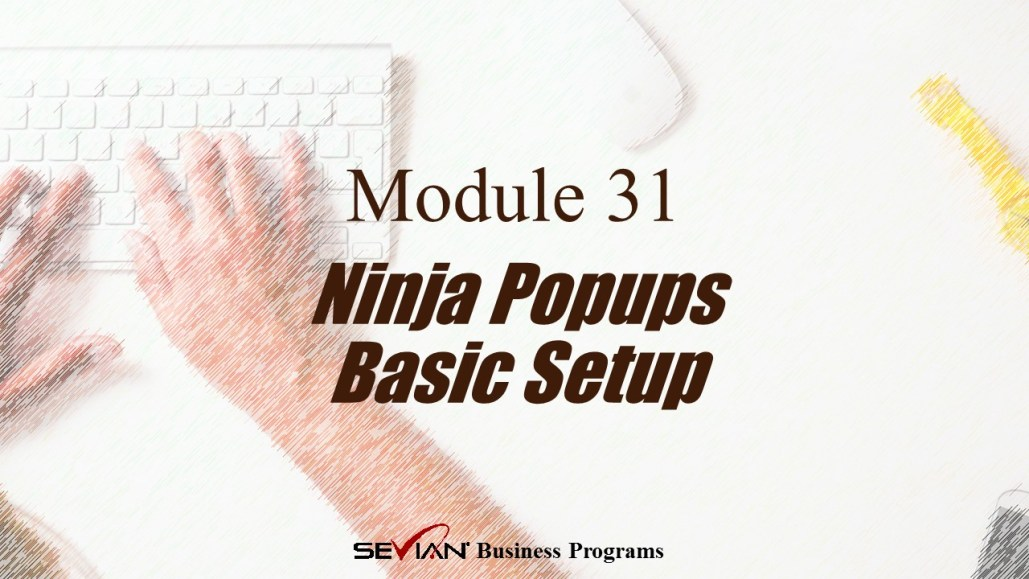 Ninja Popups Basic Setup, Digital Products Platform, Nathan Ives