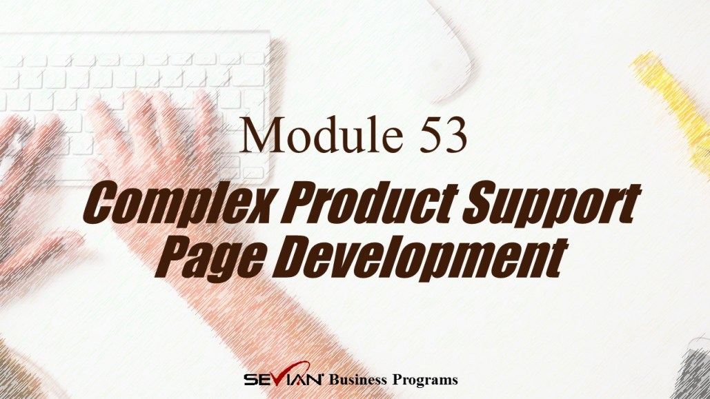 Complex Product Support Page Development, Digital Products Platform
