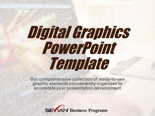 Digital Graphics PowerPoint Template | Nathan Ives | Digital Products Platform