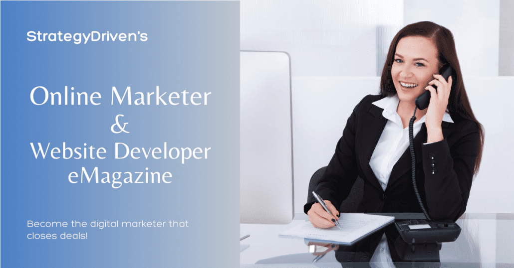 StrategyDriven Online Marketer & Website Developer Magazine