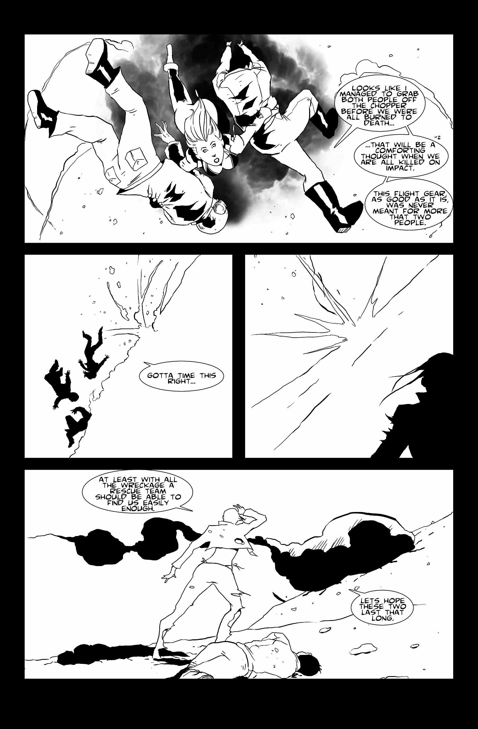 Let's Just Be Foes (issue 1, page 9)