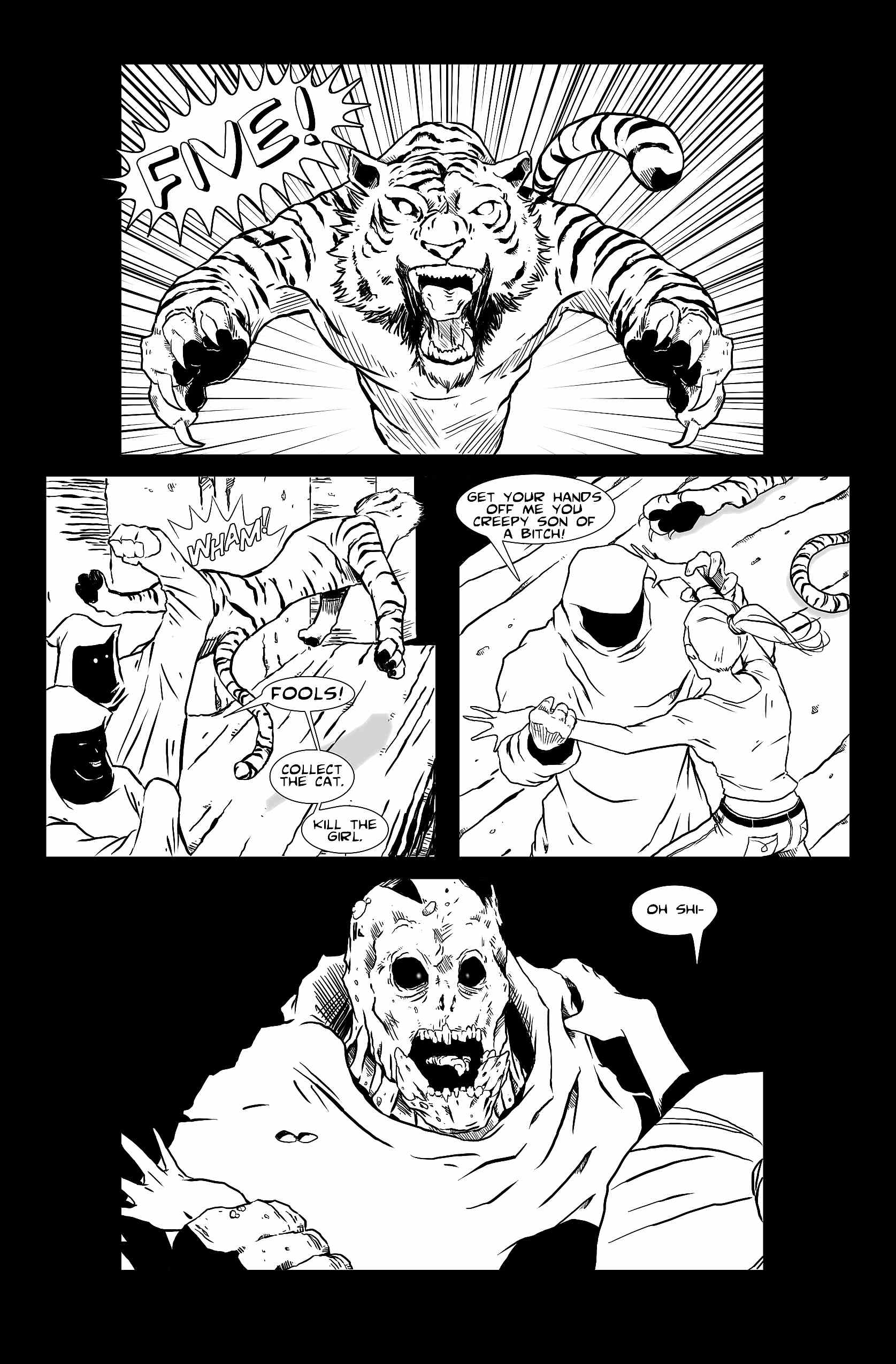 Let's Just Be Foes (issue 1, page 13)