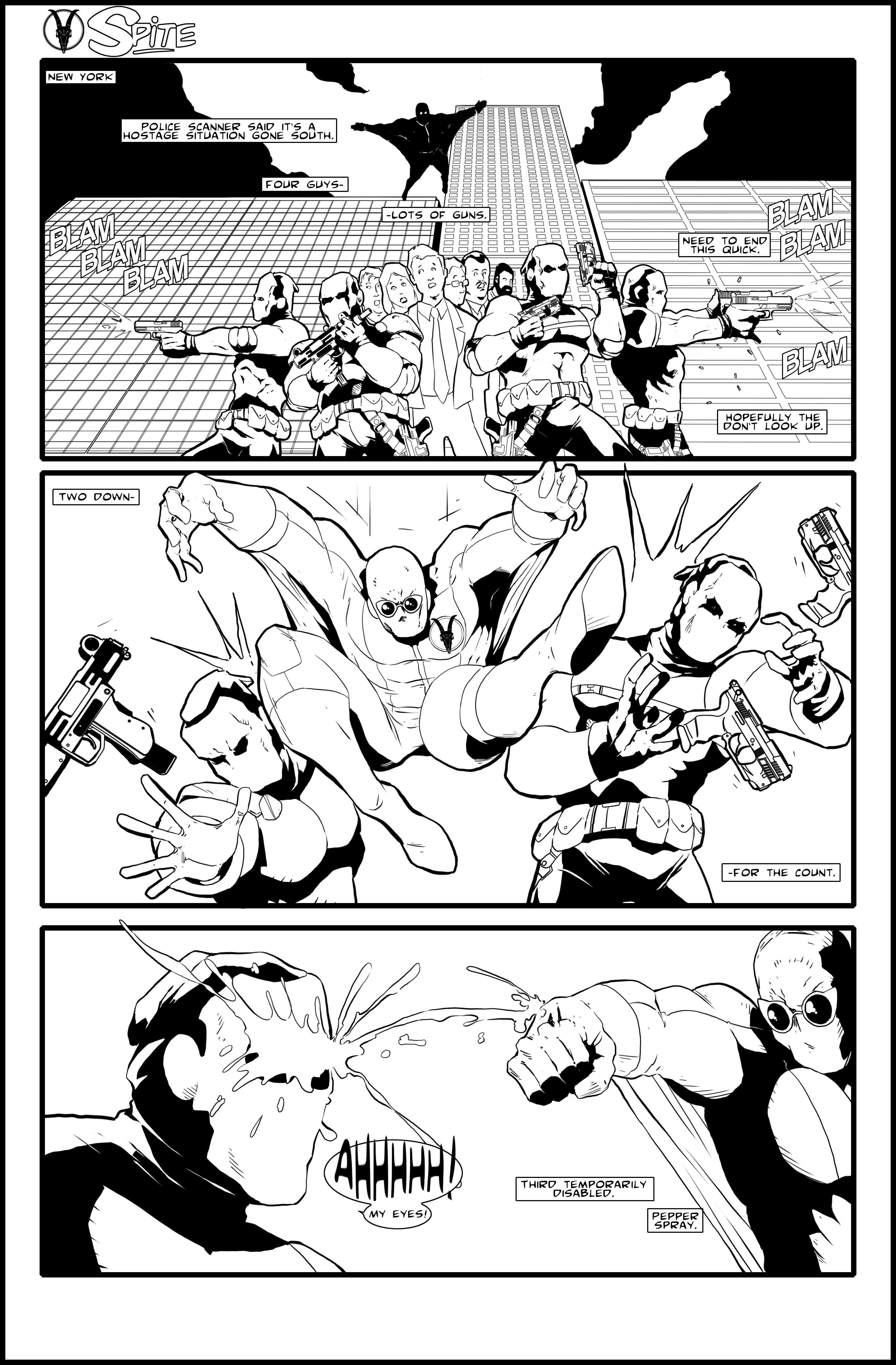 Spite (issue 1, page 1)