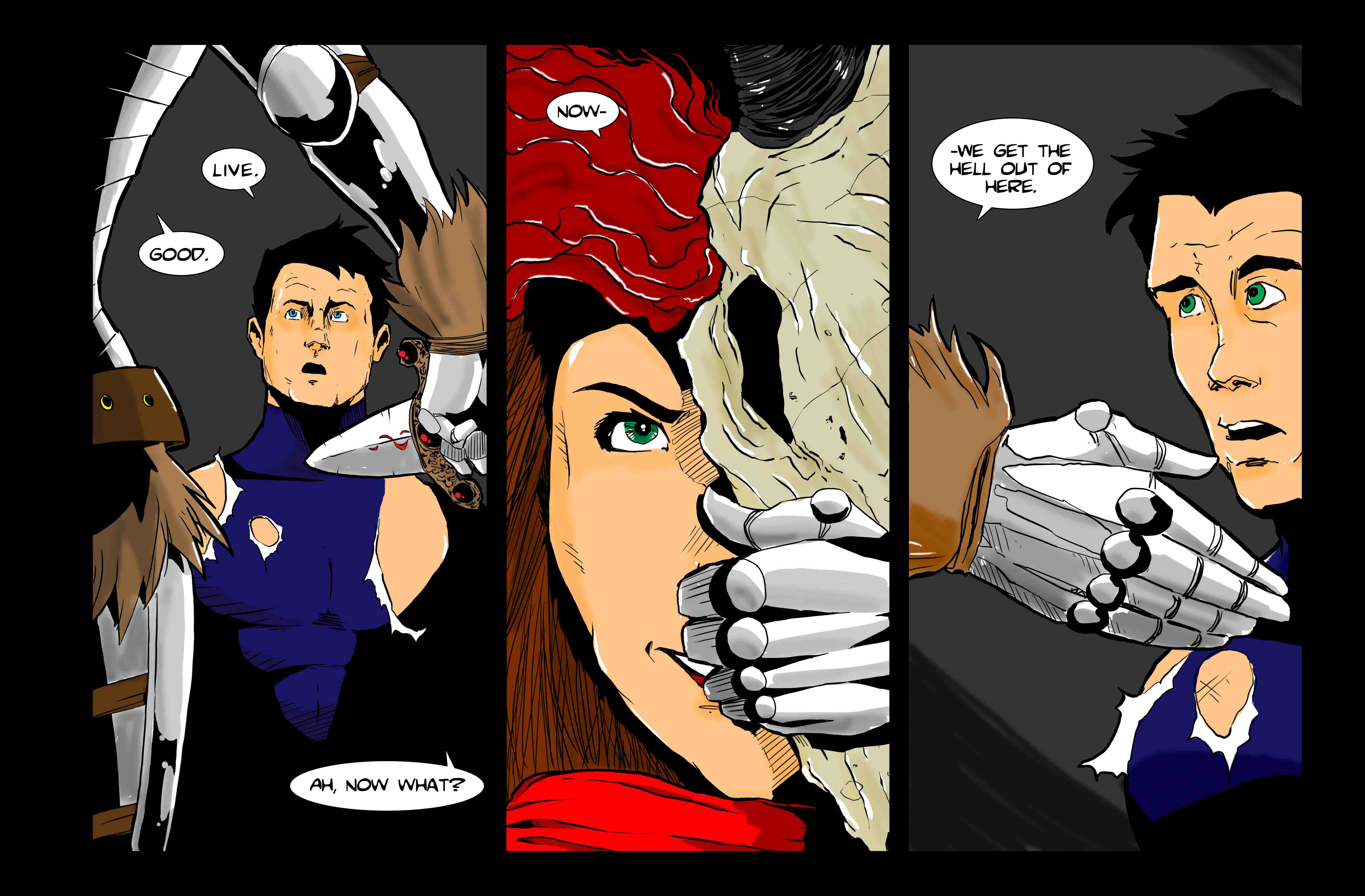Let's Just Be Foes (issue 3, page 4)